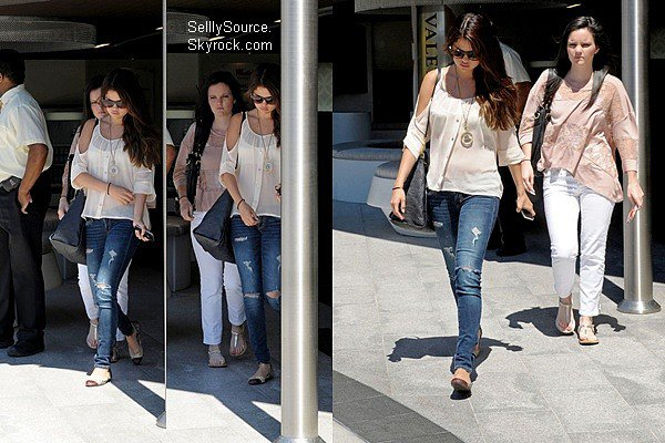 Selena Gomez en session shoping